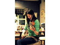 Folk fiddle lessons with Rachel