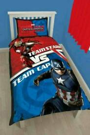 Captain America duvet Set