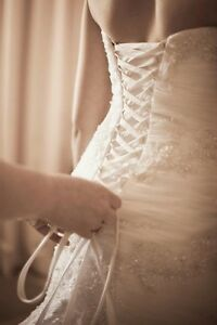 Alfred Angelo Wedding Dress size 6- 8 FREE VEIL Windsor Gardens Port Adelaide Area Preview
