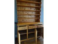 Welsh Dresser - Pine, Good Condition