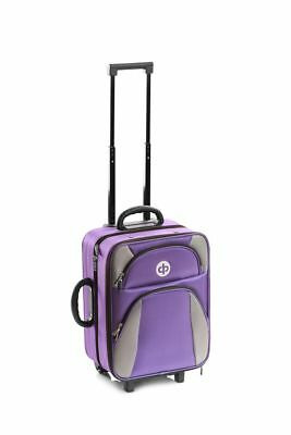 Drakes Pride - Trolley Bag Purple - Crown / Lawn Green Bowls Trolley Bag Set