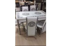 ¬¬ HIGH GLOSS ¬¬ EXTENDABLE DINING SETS WITH 6 CHAIRS AVAILABLE NOW IN STOCK