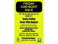 Friday Car Boot