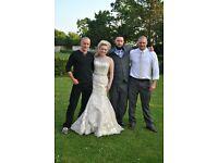 Justin Alexander Wedding Dress size 8-10