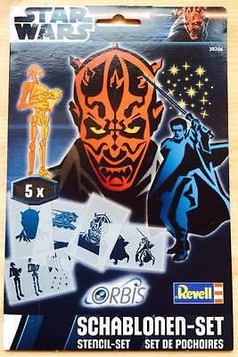 Orbis Revell 30206 Star Wars Schablonen Set Airbrush