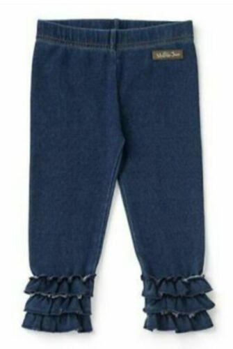 New Matilda Jane Ruffles Pants Jeans Size 6/12 months Girls Blue Style # 26934B