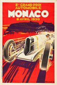 Grand Prix canvas