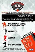 Summer ball hockey specials @ complexe hb east montreal