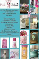 Work from home with pink zebra!!
