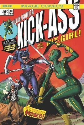 KICK-ASS 1 IMAGE BTC MIKE ROOTH HULK 181 HOMAGE COLOR VARIANT NM PRE-SALE 2/28