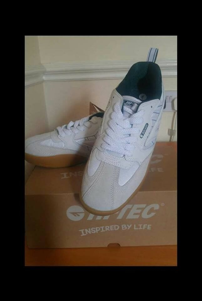 Brand new Hi Tech squash classic men's trainers. Uk size 9.5, Please call or text for details | in Chorlton Cum Hardy, Manchester | Gumtree