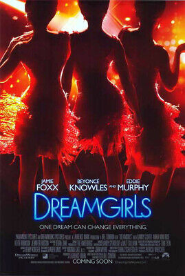 Dreamgirls (2006) original movie poster international version A - ds - rolled