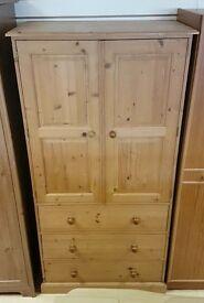 Pine Wardrobe/Dresser