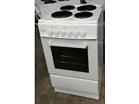 a788 white teknix 50cm solid ring electric cooker comes with warranty can be delivered or collected