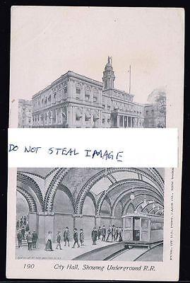 Original Postcard City Hall