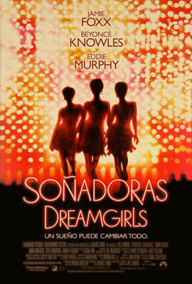 Dreamgirls (2006) original movie poster intl version C spanish - ds - rolled