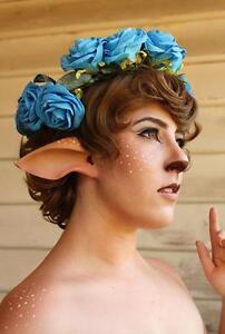 Faun or Satyr Ears Costume - Latex Unpainted Elf Ears