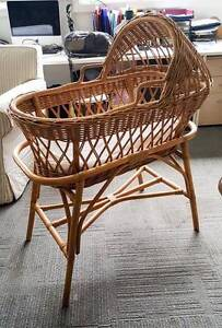 Antique cane bassinet in excellent condition North Narrabeen Pittwater Area Preview