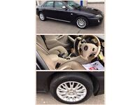 Rover 75 Connoisseur CDTI, 2004 (54), 2.0 diesel, alloys, full leather interior, BMW engine.