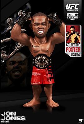 JON JONES ROUND 5 SERIES 11 UFC REGULAR EDITION ULTIMATE COLLECTORS FIGURE (CE)