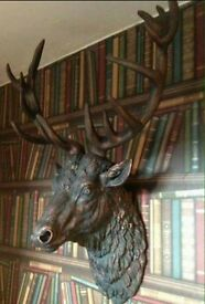 Stags Heads !! New / boxed !!