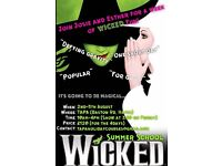 Summer School Performing Arts Wicked Workshops