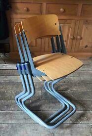Adjustable Height Stackable Children's Chairs