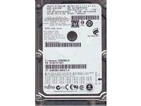 """Fujitsu Laptop 160 GB HDD - 2.5"""" - MJA2160BH - SATA 3Gb/s - 5,400 rpm"""