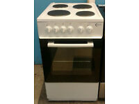 c696 white flavel 50cm solid ring electric cooker come with warranty can be delivered or collected