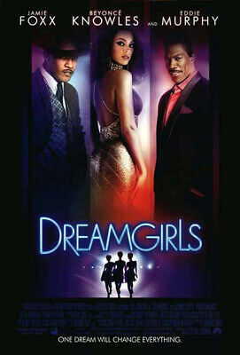 Dreamgirls (2006) original movie poster international version B - ds - rolled