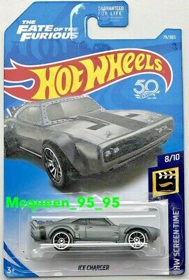 2018 HOT WHEELS ICE CHARGER HW SCREEN TIME GRAY