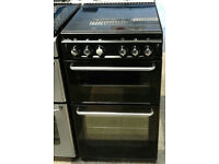 a500 black new world 50cm gas cooker comes with warranty can be delivered or collected