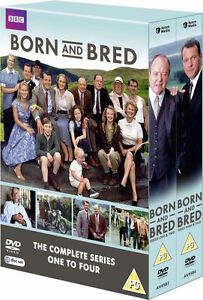 Born and Bred - Complete Series 1-4 - DVD - Box Set - New - Sealed