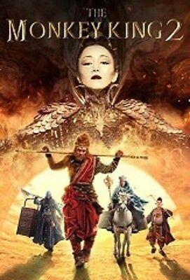 THE MONKEY KING 2  - Hong Kong RARE Kung Fu Martial Arts Action movie - NEW DVD