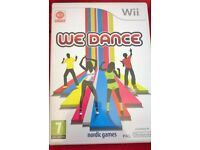 Wii WE DANCE GAME BOXED £5