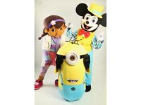 X3 Mascot Costumes (Minion,Mickey and Doc Mcstiffins)