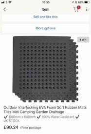 Evo rubber mats