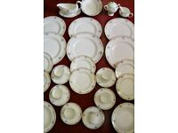 Wedgewood 'Markham'' bone china dinner service in mint condition.
