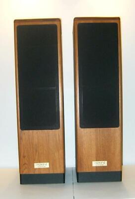 Pair of Vintage Advent Heritage Floor Standing Tower Speakers
