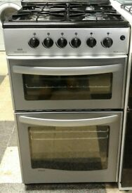 I583 silver newworld 50cm gas cooker with warranty can be delivered or collected