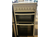 a444 white beko 50cm gas cooker comes with warranty can be delivered or collected