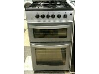e.583 silver new world 50cm gas cooker comes with warranty can be delivered or collected
