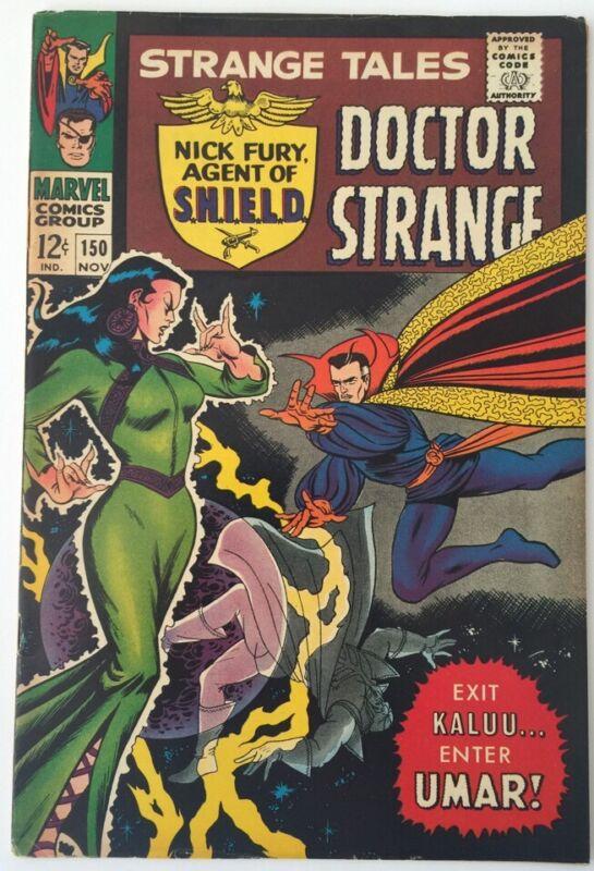 Strange Tales #150, Marvel Comics, Nov 1966