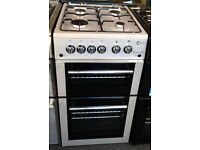 p278 silver flavel 50cm gas cooker comes with warranty can be delivered or collected