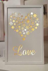 Love Plaque