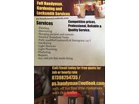 Handyman, Gardening and locksmith services covering 30 miles of hexham