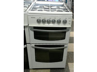 c665 white stoves 50cm gas cooker comes with warranty can be delivered or collected