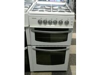 665 white stoves 50cm gas cooker with warranty can be delivered or collected