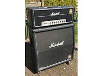 Marshall AFD 100 Slash + Marshall 1960AV Cabinet Guitar Amplifier Amp AFD100
