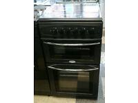 a164 graphite belling 50cm gas cooker comes with warranty can be delivered or collected
